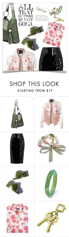 """""""Untitled #139"""" by craftsperson ❤ liked on Polyvore featuring LE3NO, Topshop Unique, Erica Lyons, Maryam Nassir Zadeh, Palm Beach Jewelry, GANT, Louis Vuitton, Free People and mules"""