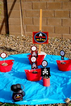 PIRATE PARTY GAMES  Boys Birthday Party  Pirates by KROWNKREATIONS, $5.99