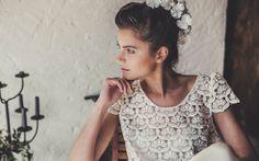 Les robes de mariée Laure de Sagazan à l'espace Maria Luisa Mariage du Printemps http://www.vogue.fr/mariage/adresses/diaporama/laure-de-sagazan-collection-robes-de-mariee-2015-printemps/20628/image/1104034#!13