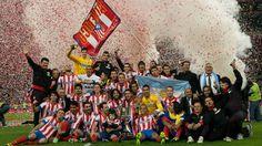 Atletico Madrid  Copa del Rey Champions 2013