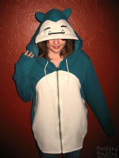 funny-cute-Snorlax-Zipper-Hoodie.jpg (540×720)
