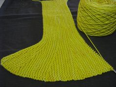 Having a 'play' with a vintage Vogue pattern which I thought would make a great little girl's swing skirt. Knitted entirely sideways in garter stitch, the 'flounce' i...