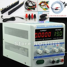 126.99$  Watch here - http://aliq7l.worldwells.pw/go.php?t=32258094610 - Free shipping 5Ps mA 30V5A Adjustable Digital DC Power Supply FOR Laptops and Smart phone Current Test DC Jack+Cable 126.99$