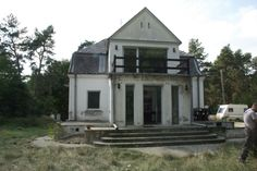 The house before renovation