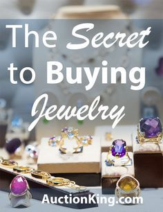 The Secret to Buying Jewelry | Auction King