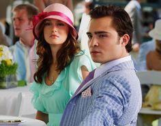 Blair Waldorf And Chuck Bass.