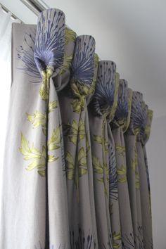 Goblet Headed Curtains