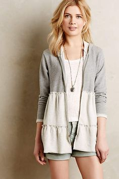 Tiered Swing Hoodie - anthropologie.com
