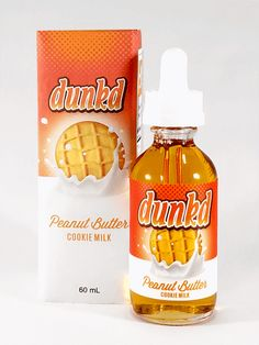 Peanut Butter Cookie Milk - Dunkd E Liquid #vape #vaping #eliquid Get These E-Liquids and more @ http://TeagardinsVapeShop.com or look for Teagardins Vape Shop in google play store today to get all the lates vape products right on your cell phone.