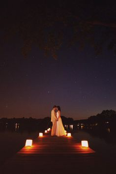 nice photo ;) Maybe make a pit stop back at the cabin after the reception and have someone try to get a shot like this for us