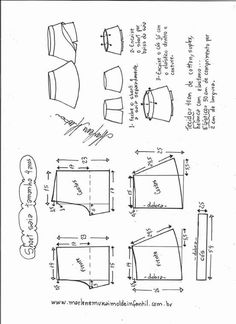 29 ideas for sewing shorts tutorial pjs Baby Dress Patterns, Kids Patterns, Sewing Patterns Free, Clothing Patterns, Sewing Kids Clothes, Sewing For Kids, Diy Clothes, Sewing Hacks, Sewing Tutorials