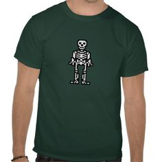 Skeletonnish Tees