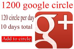 Nice gig to increase you circle or followers