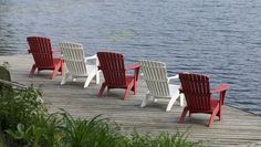 Element Square Muskoka chairs #cottagelife