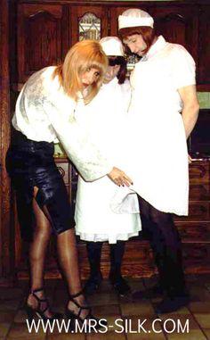 Household sissy are so handy Sissy Maid, Mistress, Household, Satin, Silk, Journals, Women, Dominatrix, Elastic Satin