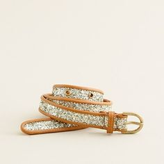 jcrew glitter belt