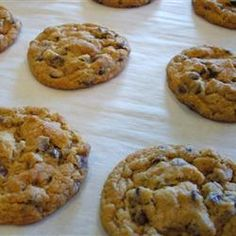 Chocolate Chip Cookies (Gluten Free, egg free... Use earth balance butter and Enjoy Life chocolate chips to make dairy free)