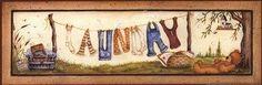 Laundry (Mary Ann June)