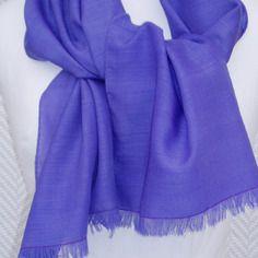Echarpe, étole, foulard violet