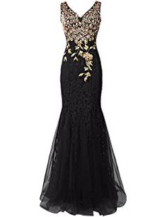 Dresstells® Long Lace Mermaid Prom Dress with Appliques Wedding Dress Evening Party Wear