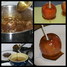 Making toffee apples and the science behind it