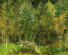 The Grove - Vincent van Gogh