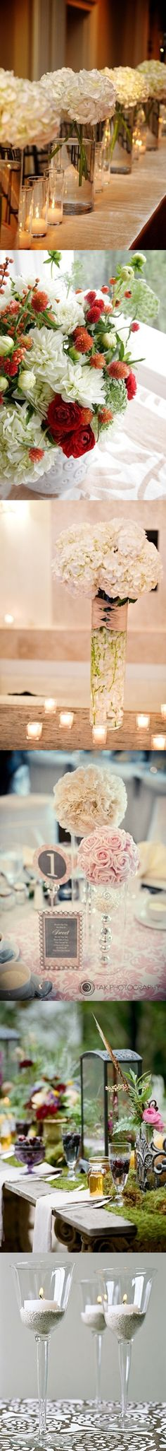 Wedding Centerpiece <3 the pink with pearls!!