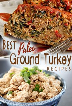 The Best Paleo Ground Turkey Recipes