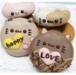 バレンタインセット(4個入り) - animal doughnuts website & doughnut designs