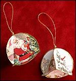 Recycle Christmas Cards into an ornament, from Canadian Living. Note- can use 8 circles for bigger ornament Canadian Living is the lifestyle brand for Canadian women. Get the best recipes, advice and inspired ideas for everyday living. Paper Christmas Ornaments, Christmas Ornament Crafts, Old Christmas, Christmas Makes, Christmas Holidays, Recycled Christmas Cards, Vintage Christmas, Greeting Card Box, Holiday Countdown