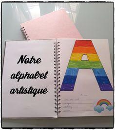 Alphabet artistique, décorer les lettres de l'alphabet, activités enfant, projet alphabet