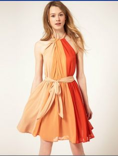 Wholesale Pretty & Graceful Splice Contrast color Tieback Strapless Dress with Belt top dresses