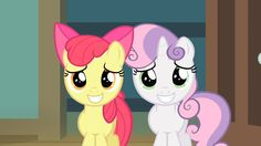 applebloom and sweetie belle - Google Search