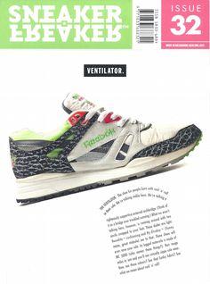 Sneaker Freaker Magazine Issue # 32 Reebok Ventilator
