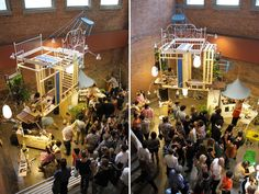 Andres Jaque Architects and the Office for Political Innovation, Ikea Disobedients. Performance views at the MoMA PS1