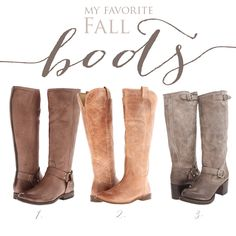 Can I own all of these please?  favorite fall frye boots