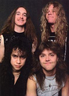 Kirk Hammett/Cliff Burton/James Hetfield/Lars Ulrich