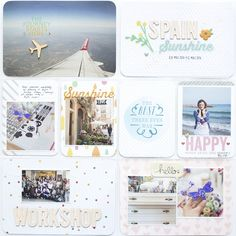 magda mizera | scrapbooking, photography and more: PROJECT LIFE - SUNSHINE IN SPAIN