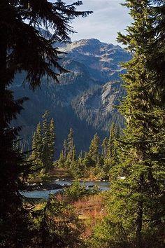 callahan lake - british columbia, canada