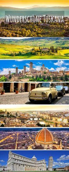 Kommt mit auf eine Rundreise zu den schönsten Orten in der Toskana. Wir besuchen Orte wie Florenz, Siena und Elba und fahren an malerisch schönen Landschaften vorbei. Die Toskana ist definitiv eine der schönsten Regionen Italiens.