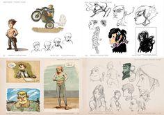 #niccolocellini, #lisastampfer, #sketching, #cantinaanimation, #digitalart, #cintiqwacom, #digitaldrawing, #characterdesign,