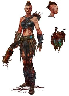 "sekigan: "" Bloody Survivor Alchemist - Characters & Art - Nosgoth """