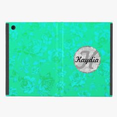Love it! This Trendy Faded Teal Modern Vintage Floral Monogram iPad Mini Cases is completely customizable and ready to be personalized or purchased as is. It's a perfect gift for you or your friends.