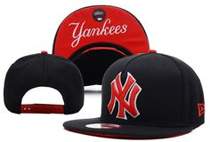 9c90e649ff4 New York Yankees Black MLB Hats ID 6618 New Era Snapback