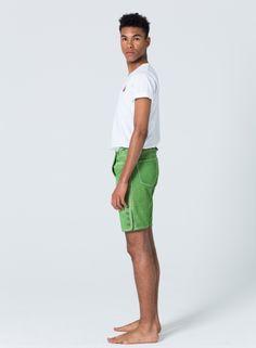 Devilskins Lederhose Green - Super Soft Wild Buck Leather #grüne_Lederhose #Lederhose #Devilskins #moderne_lederhose #Herren_Lederhose