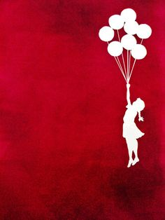 tattoo, fly, girl, air-balloons, red and white
