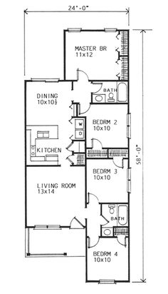 Layout of 7th heaven house