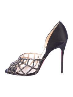 Christian Louboutin Spiderweb Pumps