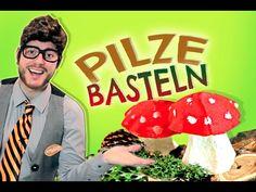 Pilze basteln mit Naturmaterial - Tobilotta 33 - YouTube