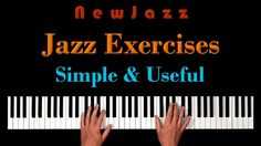 Keyboard & Piano Jazz Piano Scales And Exercises Piano Learn To Play Sheet Music Book Aromatic Flavor